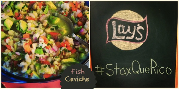 Fish Ceviche (Ceviche de Pescado) Goes So Well With Lay's #StaxQueRico