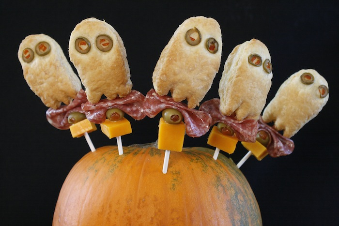 Ghostly Boo Stick Appetizers