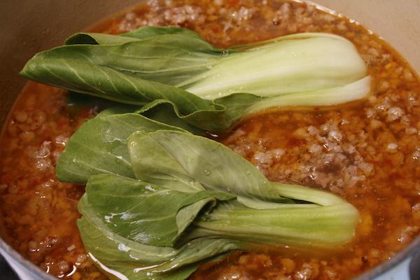 bok-choy-sausage-soup