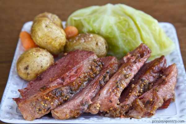 A St. Patrick's Day Feast: Corned Beef And Cabbage