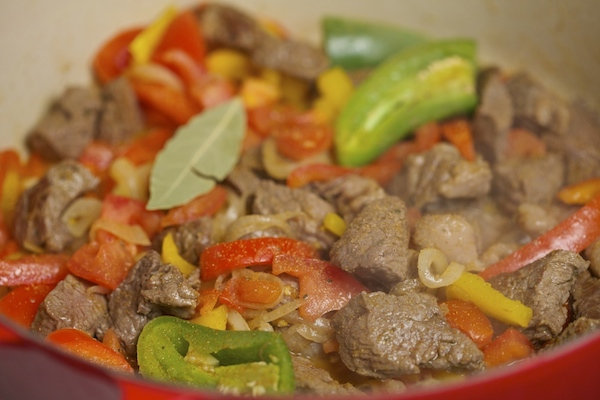 cooked steak with vegetables #ItsPossibleWithBarilla