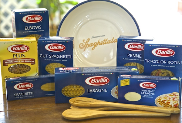 A photo of Barilla pasta
