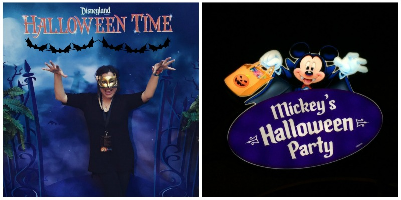 a glimpse of mickey's halloween party at Disneyland