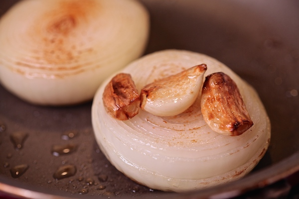 fried garlic and onion.