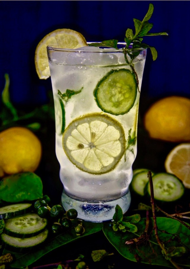 Cucumber Mint Lemonade can also be called Limonada De Pepino y Yerba Buena.