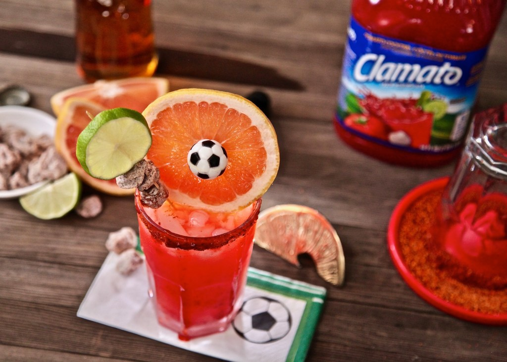 Enjoy the soccer matches with Paloma Michelada