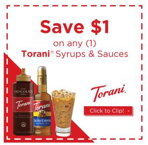 Torani coupon