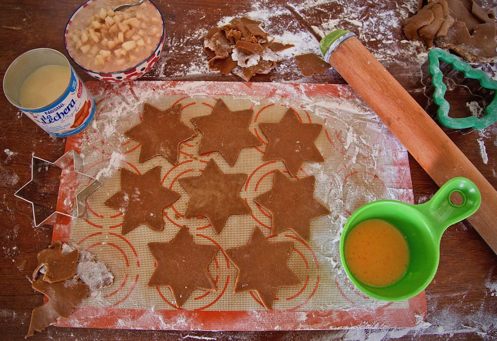 Gingerbread star cutout