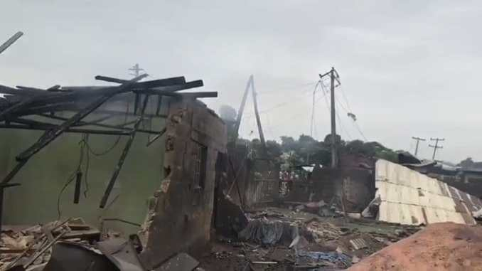 LASEMA Reacts To Gas Explosion In Lagos