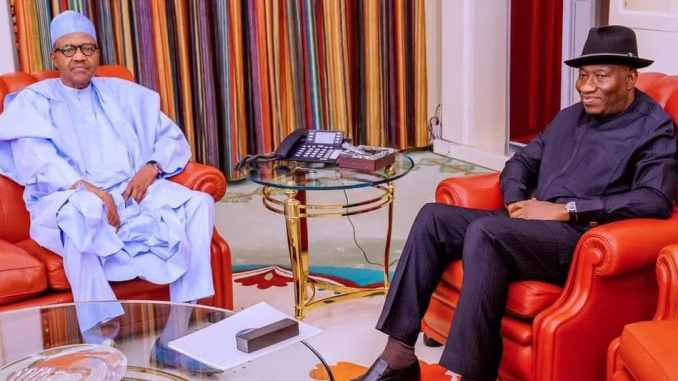 Buhari Supporters Reportedly Considering Backing Former President Goodluck Jonathan For 2023