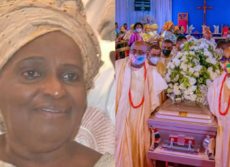 Awolowo's Eldest Daughter, Tola Oyediran Laid To Rest