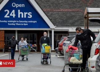 Tesco puts buying caps on several products