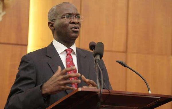 FG Executing 43 Road Projects Within Tertiary Institutions Across Nigeria – Fashola