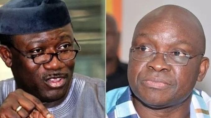Comparing Fayose's Govt To Fayemi's Is Like Satan And Jesus – APC