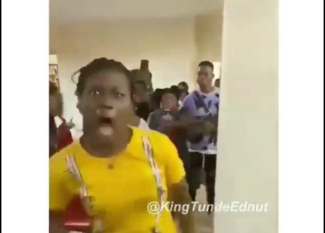 Lady Runs Mad After Her Boyfriend Proposed To Her (VIDEO)