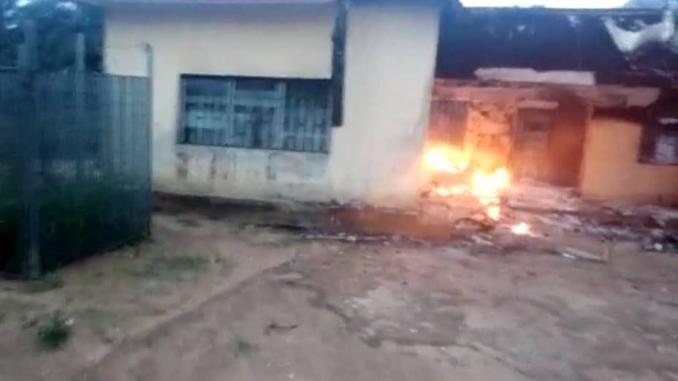 INEC Office In Akwa Ibom Set Ablaze