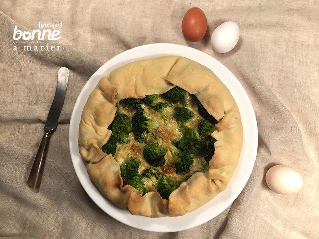 Tarte surprise brocolis curry