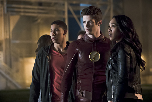Wally West, Barry Allen (The Flash) and Iris West