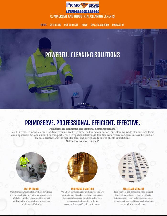 Primoserve-website