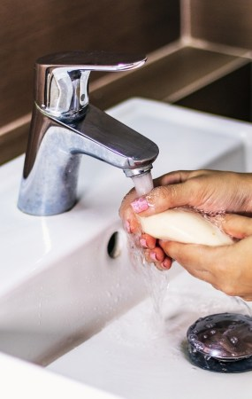 Soap Sink Hands Hygiene Bathroom