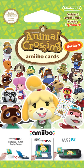 Animal Crossing Happy Home_ Designer amiibo cards