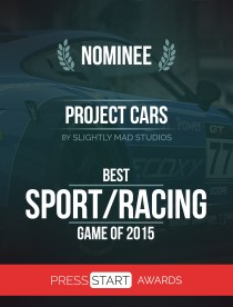 PROJECT CARS NOMINEE