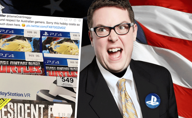 Greg Miller Agrees That Games In Australia Are Too Expensive