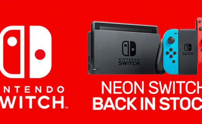 Neon Nintendo Switch Is Back In Stock At Eb Games And Jb Hi Fi