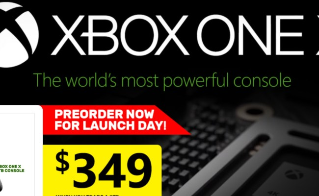 Eb Games Have Another Xbox One X Trade Deal