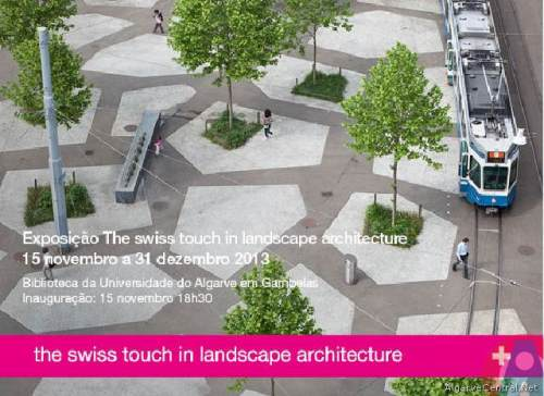 The swiss touch in landscape architecture -