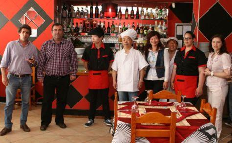 Restaurante Wok - inauguração convidados