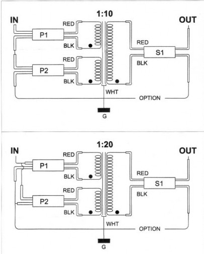 Technical Information of Silk Step Up Transformer