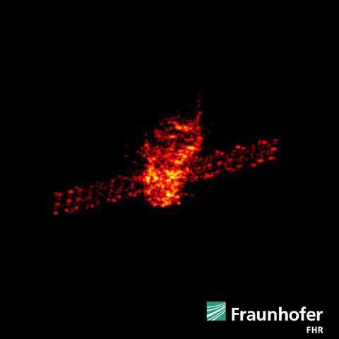 última imagem da tiangong 1 na atmosfera