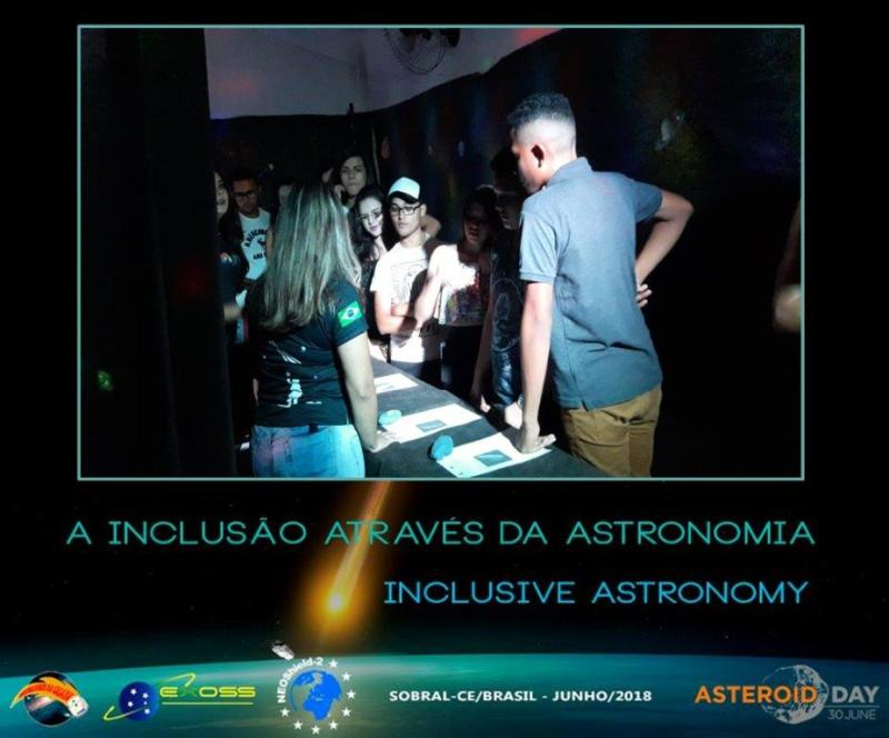 exoss asteroid day sobral 2