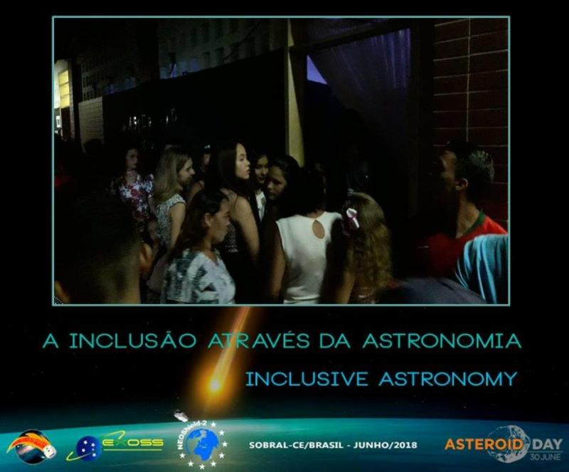 exoss asteroid day sobral