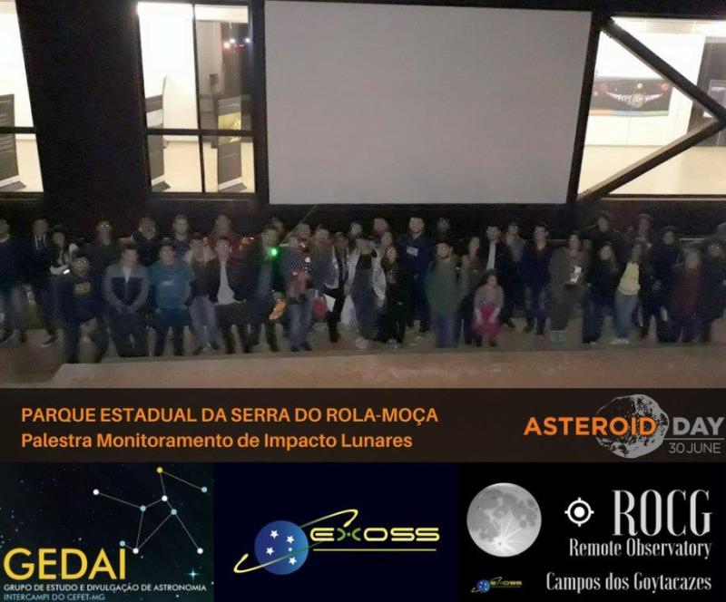 gedai contagem asteroid day