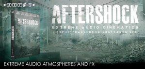 Zero-G release Aftershock – Extreme Audio Cinematics