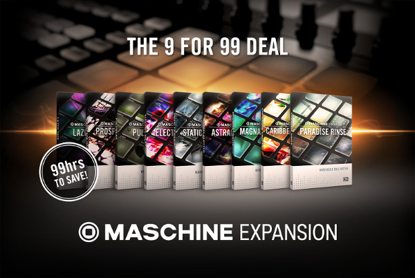 NI_9for99_Maschine_Expansions_Sales_Special