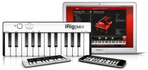 iRig Keys MINI Released from IK Multimedia