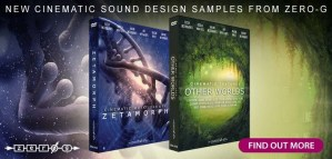 Zero-G release duo of new cinematic sound design sample libraries