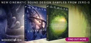 Zero-G release duo of new cinematic sound design sample libraries