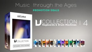Arturia adds V Collection 4 to 'Music Through The Ages' discount deals throughout Holiday Season