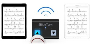 IK Multimedia ships iRig BlueTurn wireless backlit page turner
