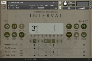 Cinematique Instruments Release Interval