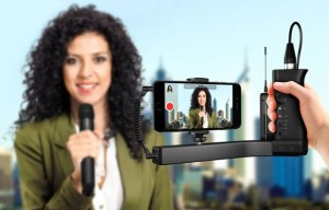 IK Multimedia launches iKlip A/V – smartphone broadcast mount for mobile audio/video