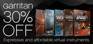 Garritan announces virtual instrument sale