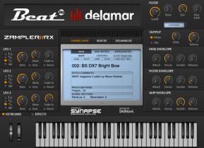 Free Zampler//RX workstation now 64bit for OS X, plus new sound bank & sound shop