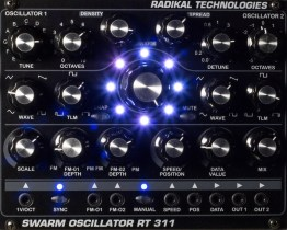 Radikal Technologies releases radical Eurorack-compatible oscillator module with a DSP-driven difference