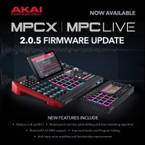 AKAI Pro Introduces Major 2.0.5 Firmware Update For MPC Live & MPC X