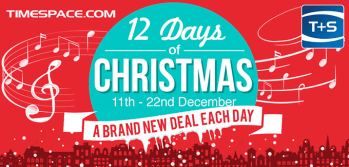 Time+Space launch 12 Days of Christmas campaign
